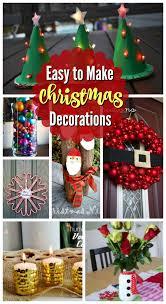 17 easy to make christmas decorations christmas celebrations
