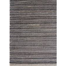 Black Outdoor Rugs Recycled Rubber Plastic Indoor Outdoor Rugs 2 X3 One Mercantile