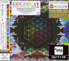 coldplay album 2017 coldplay a head full of dreams cd album at discogs