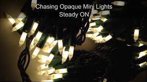 opaque painted chasing christmas tree lights youtube