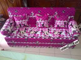 Mickey Mouse Sofa Bed by Harga Sofa Bed Dan Kasur Lipat Murah Nrtradiant Com