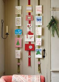 absolutely smart display christmas cards modern design best 25