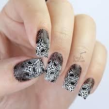 paint all the nails presents monochrome black u0026 white nail art