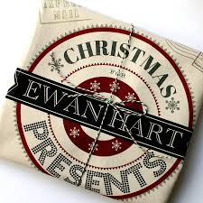 personalised santa sack deco design by lovehart