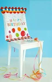 birthday chair cover glitterville birthday party decoration chair cover