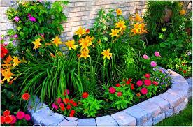 Simple Flower Garden Ideas Marvellous Small Flower Garden Ideas To Build A Serene Backyard