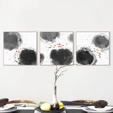 aliexpress com buy modern abstract oriental chinese ink fish
