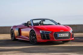 convertible audi red 2018 audi r8 convertible pricing for sale edmunds