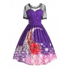 plus size animal print dress cheap casual style online free