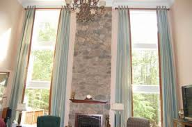 Curtains Hanging From Ceiling by Hanging Curtain Rods Install Curtain Rod Concrete Ceiling Window