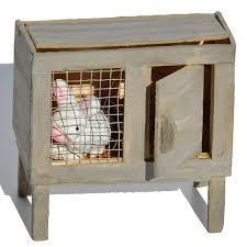 Advantek Stilt House Rabbit Hutch Amazon Com Miniature Fairy Garden Bunny Hutch With Rabbit Home