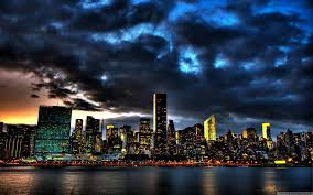 New York scenery images City building and cloudy sky scenery of new york city city wallpaper jpg