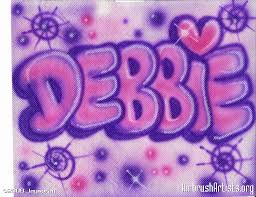 debbie bubble letters airbrushartists org