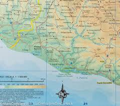 Hermosillo Mexico Map by Map Of Chiapas And Oaxaca Mexico Itm U2013 Mapscompany