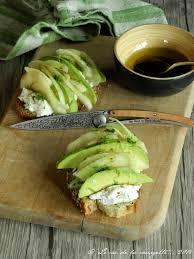 cuisiner du fenouil frais tartine d avocat fenouil poire et chèvre frais vinaigrette au
