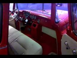 Chevy Truck Interior Custom 53 Chevy Truck Interior Youtube
