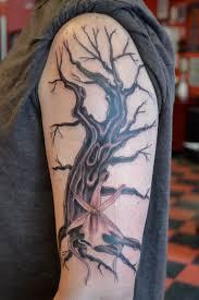 tree flower arm