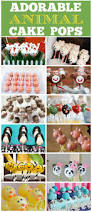 cute animal cake pops catch my party