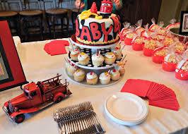 barksdale blessings firefighter baby shower