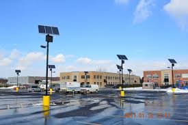 Solar Power Traffic Lights by Top Of Pole Series Sol By Carmanah