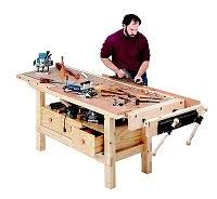 workbenches plans and kits