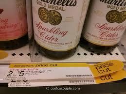 sparkling cider in bulk martinelli s sparkling cider costco vs target