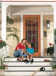 make a storm door diy screen door project