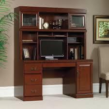 computer desk and credenza heritage hill computer credenza 404944 sauder