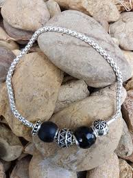 silver bracelet beads charms images Silver bracelet with 5 charm beads country heartstrings JPG