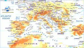 Europe Map Labeled Map Of Wwii With Europe Map Seas Evenakliyat Biz