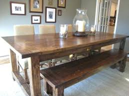 Dining Room Tables Bench Seating Rustic Dining Rooms Revamp Your Dining Room Drummond House Plans