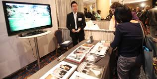 wedding videographers wedding photographer and videographer booth ideas great bridal expo