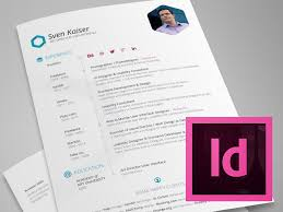 Vita Resume Template Free Indesign Resume Template 28 Images 28 Free Cv Resume