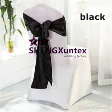 cheap black chair covers white color lycra spandex chair cover and black satin chair sash