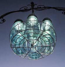 Mason Jar Wagon Wheel Chandelier 6 Mason Jar Solar Lights Chandelier By Treasureagain Solar