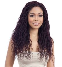braids crochet model model 3x wavy feathered twist 16 crochet braid