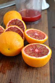 blood orange sorbet without an icecream maker the key of kels
