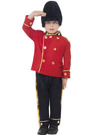 childrens wizard costume busby guard costume children queens guard costume escapade uk
