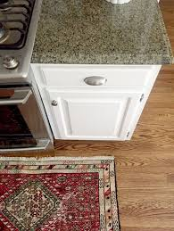 what color granite goes with cabinets our white kitchen cabinets granite emily a clark