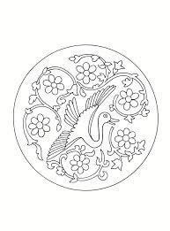 asian designs east asian designs bird roundel a see bibliodyssey blog flickr
