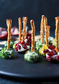 assorted holiday goat cheese balls easy healthy recipes using