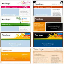 create email newsletter template free electronic newsletter software xflip