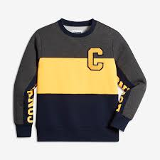converse colorblock crew big kids u0027 boys u0027 sweatshirt nike com
