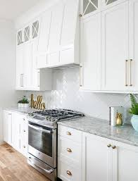 white kitchen cabinet hardware ideas white and gold kitchen design ideas your clients will