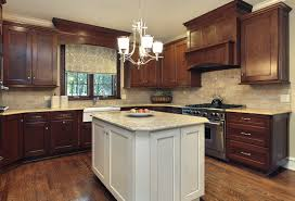 Factory Direct Kitchen Cabinets Fusion Chestnut U0026 Blanc Come See Our Selection Of Beautiful