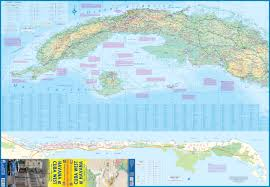 Map Cuba Maps For Travel City Maps Road Maps Guides Globes Topographic