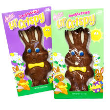 easter bunny candy palmer lil crispy milk chocolate easter bunny 2 5 oz great