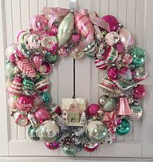 Vintage Christmas Decorations Best 25 Pink Christmas Ornaments Ideas On Pinterest Girly