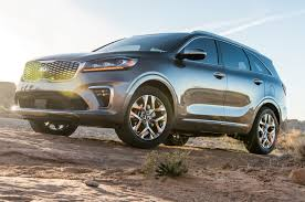 humvee side view 2019 kia sorento first look fresher and safer motor trend