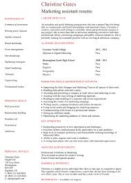 marketing resume template 10 best digital marketing cv exles templates